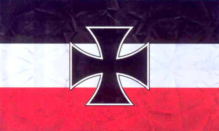 флаг красный белый черный